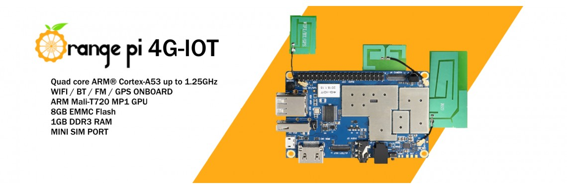 Orange Pi 4G IOT