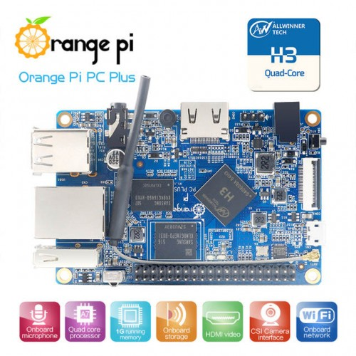 Orange Pi PC Plus - OP0602